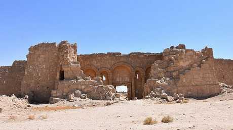 موقع الرصافة الأثري جنوب غربي الرقة