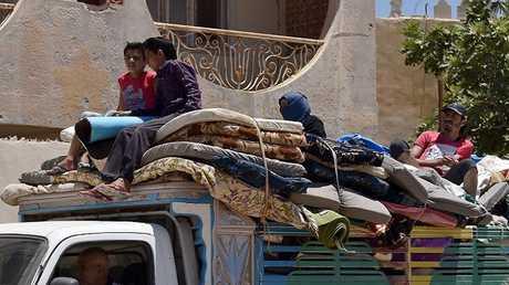 عودة النازحين السوريين (صورة أرشيفية)