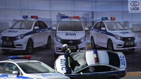 الشرطة العسكرية الروسية تفضل سيارات