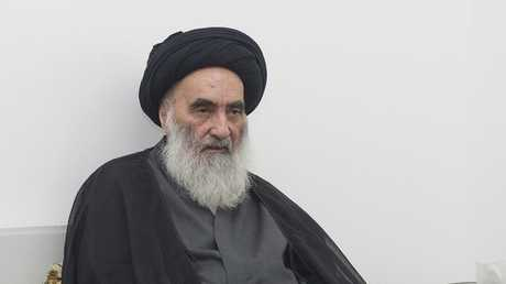 المرجع الديني في العراق علي السيستاني