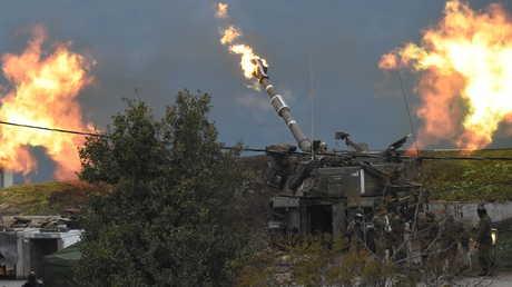 المدفعية الإسرائيلية تطلق النار على لبنان (4 يناير 2016)