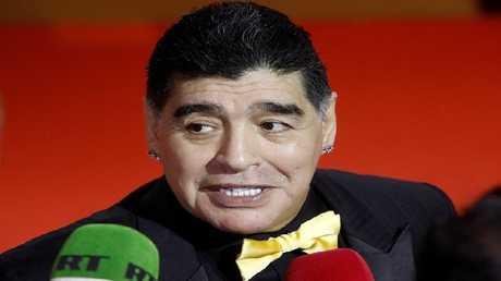مارادونا مدربا جديدا لفريق مكسيكي