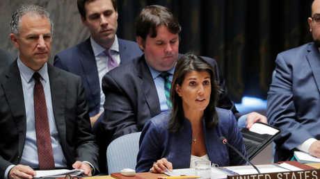 مندوبة الولايات المتحدة في الأمم المتحدة، نيكي هايلي