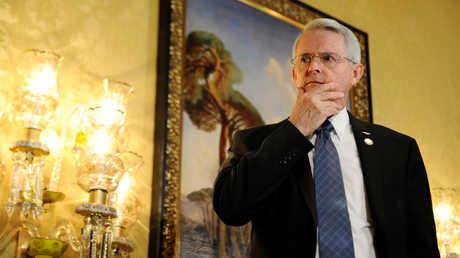 السيناتور الأمريكي ريتشارد بلاك في دمشق