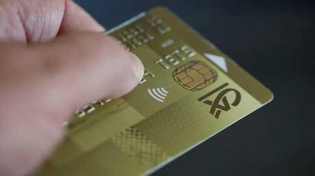 بطاقة دفع مصرفية - ارشيف