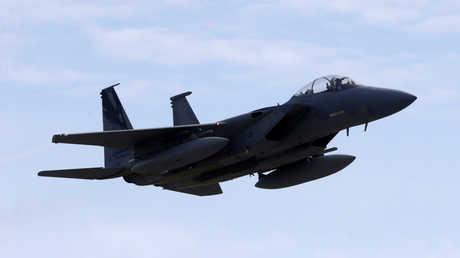 """مقاتلة أمريكية من طراز """"F-15"""""""