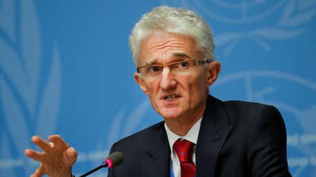 منسق الشؤون الإنسانية والإغاثة في الأمم المتحدة، مارك لوكوك