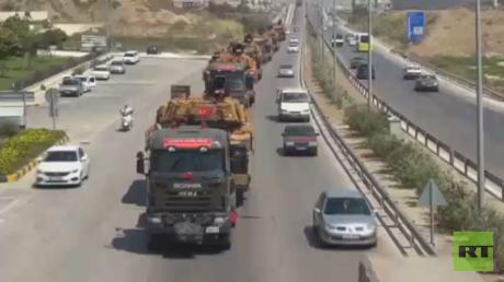 تعزيزات عسكرية تركية نحو الحدود مع سوري
