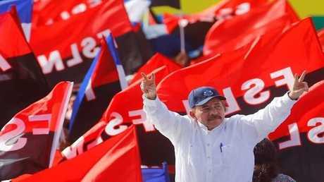 رئيس نيكاراغوا دانييل أورتيغا