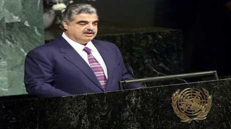 رئيس الوزراء اللبناني الراحل رفيق الحريري