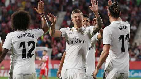 إدانة نجم ريال مدريد بالحبس 4 أشهر