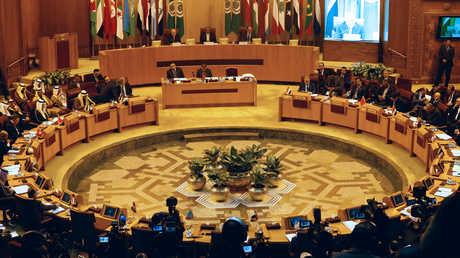 جلسة للجامعة العربية - صورة أرشيفية
