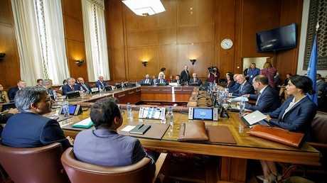 مفاوضات جنيف حول سوريا بمشاركة ممثلي الدول الضامنة لعملية أستانا