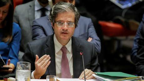 المندوب الدائم لفرنسا لدى الأمم المتحدة فرانسوا ديلاتر