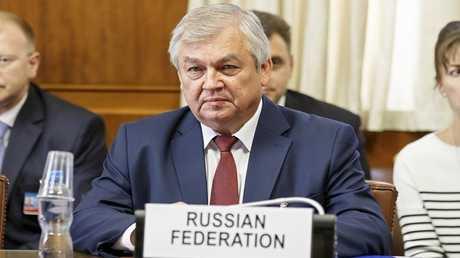 المبعوث الخاص للرئيس الروسي إلى سوريا ألكسندر لافرينتييف