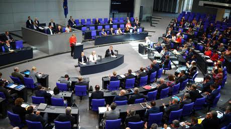 جلسة البرلمان الألماني، 12 سبتمبر 2018