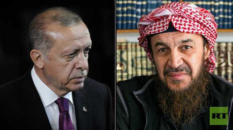 أحد أبرز منظري السلفية الجهادية، الداعية الأردني أبو محمد المقدسي، والرئيس التركي، رجب طيب أردوغان
