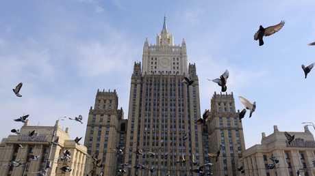 مقر وزارة الخارجية الروسية بموسكو