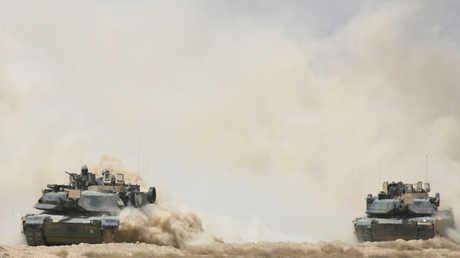 دبابات أمريكية من طراز