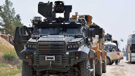 قوات تركية داخل سوريا - أرشيف