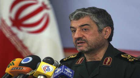 القائد العام لحرس الثورة الإيرانية اللواء محمد علي جعفري