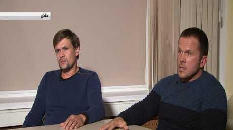 مقابلة RT مع المشتبهين بقضية سكريبال