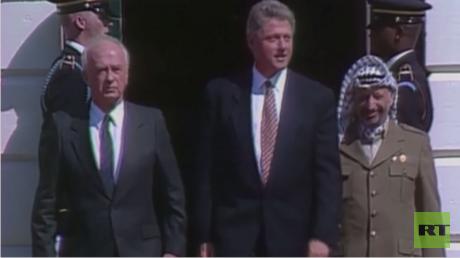 25 عاما على توقيع اتفاق أوسلو