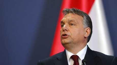 رئيس وزراء هنغاريا فيكتور أوربان