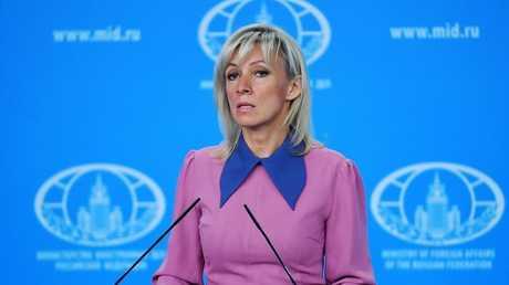 المتحدثة باسم الخارجية الروسية ماريا زاخاروف