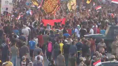 تجدد المظاهرات في البصرة جنوب العراق