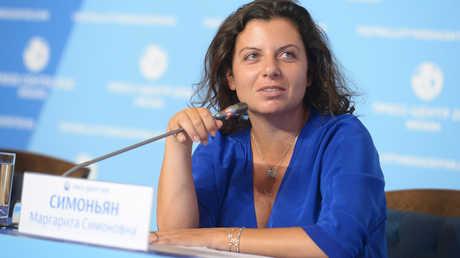 رئيسة تحرير قناة RT ووكالة الأنباء