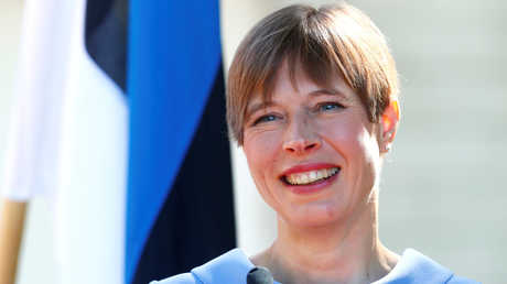 رئيسة إستونيا كريستي كاليولايد