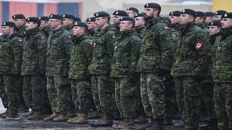 عسكريون كنديون (صورة أرشيفية)