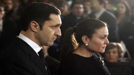 علاء مبارك وزوجته - أرشيف