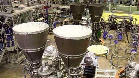 محركات صواريخ روسية من طراز RD-180