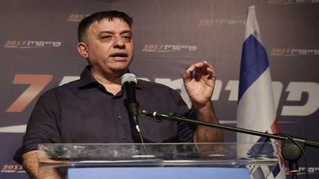رئيس حزب العمل الإسرائيلي آفي غباي