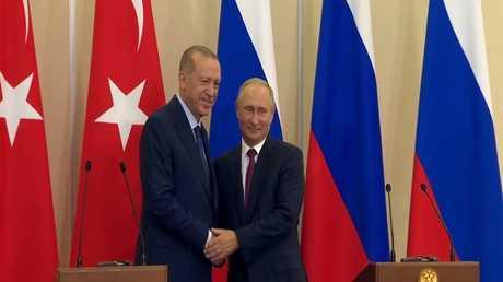 قمة روسية تركية لبحث التسوية السورية
