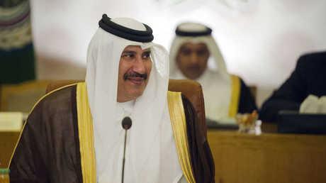رئيس الوزراء القطري السابق، حمد بن جاسم آل ثاني