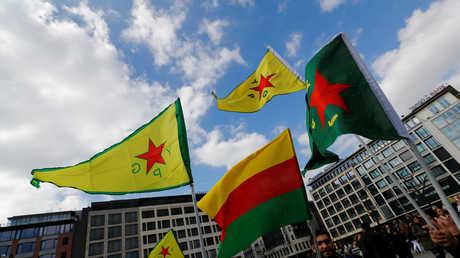 مظاهرة سابقة للأكراد في ألمانيا