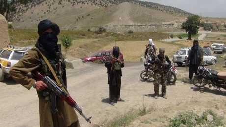 مسلحون من طالبان في  أفغانستان ارشيف