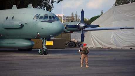 طائرة إيل 20 روسية في سوريا