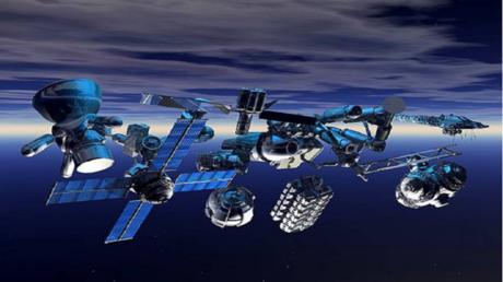 لأول مرة .. نجاح شبكة فضائية في جمع الحطام المدمر!