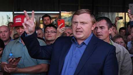المرشح الشيوعي لمنصب محافظ إقليم بريمورسك أندريه إيشينكو
