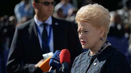 الرئيسة داليا غريباوسكايتي