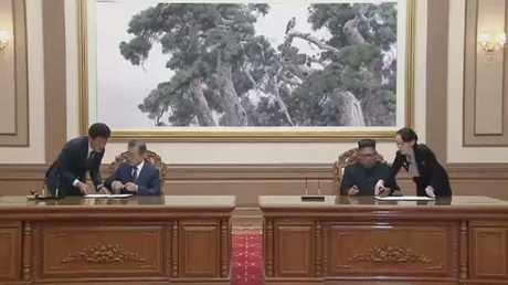 اتفاق بين الكوريتين على سبل نزع النووي