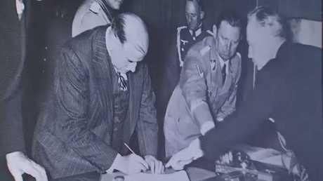 80عاما على توقيع معاهدة ميونخ السوداء