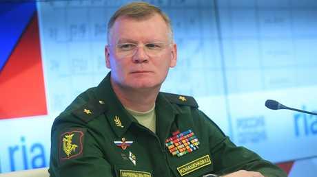 المتحدث باسم وزارة الخارجية الروسية اللواء إيغور كوناشينكوف