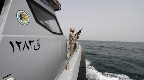 زورق تابع لحرس السواحل السعودي