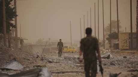 """عناصر لـ""""قوات سوريا الديمقراطية"""" - صورة أرشيفية"""