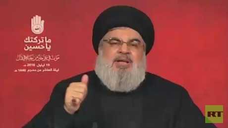 نصر الله: نمتلك صواريخ دقيقة رغم الضربات